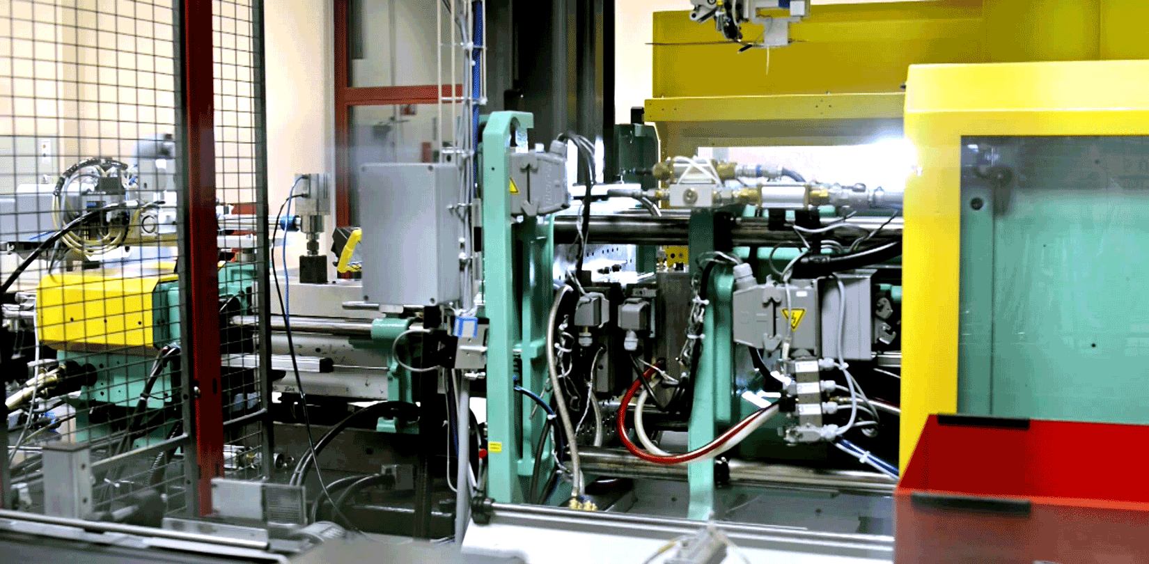 Injection molding of silicone